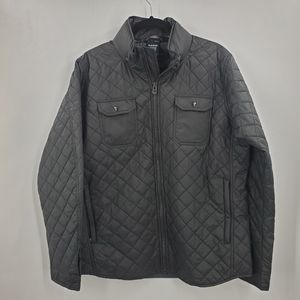 Kuhl Quilted Puffer Coat Jacket Black Lrg Kadence